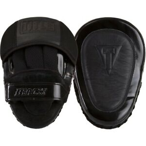 Title Boxing Black Blast Punch Mitts - Black