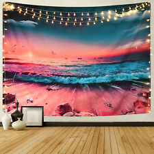 Psychedlic Sea Landscape Home Tapestry New Room Decorative Wall Hanging Tapestry