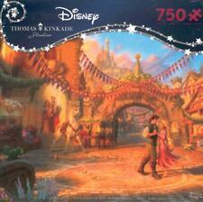 Thomas Kinkade Jigsaw Puzzle Rapunzel Dancing in the Sunlit Courtyard NIB