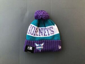 Unisex 2020 NBA Charlotte Hornets Sports Knit Hats Fleece lined Beanie
