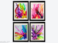 Floral Abstract Art Prints