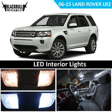 2008-2015 Land Rover LR2 White Interior LED Light Package Kit for MAP DOME TAGS