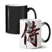 Vintage Katana NEW Colour Changing Tea Coffee Mug 11 oz | Wellcoda