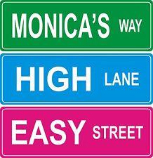 Custom Street Sign - 4x12 inches
