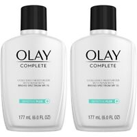 Olay Sensitive Plus Face Moisturizer SPF 15 6 Fl Oz Pack Of 2 New Unboxed