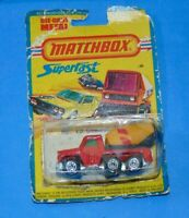 VINTAGE Matchbox Superfast No 19 Cement Truck 1976 Lesney made in England