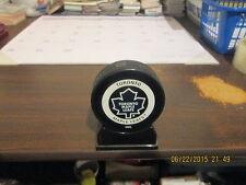 NHL Toronto Maple Leafs InGlasCo Bettman Game Puck