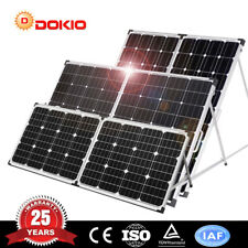 Dokio 100W 160W 200W 12V Tragbarer faltbarer monokristalliner Solarpanel