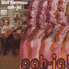 WOLF BIERMANN - AAH-JA!  CD NEU