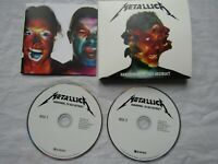 CD double METALLICA HARDWIRED TO SELF triple fold out / booklet new not sealed