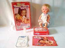 Vintage Baby Wet and Care – 1978 – Kenner with Box and extras