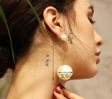 Charm Women's Simulated Pearl Tassel Long Dangle Party Wedding Earrings Jewelry
