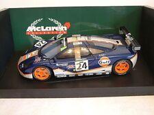 MINICHAMPS 530 151824 - 1:18 MCLAREN F1 GTR - GULF RACING - 4TH LEMANS 1995