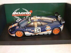 MINICHAMPS 530151824 - 1:18 MCLAREN F1 GTR - GULF RACING - 4TH LEMANS 1995