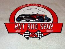VINTAGE HOT ROD SHOP RACING EQUIPMENT REPAIRS 12