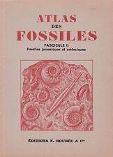 Atlas des fossiles - fascicule II - Fossiles jurassiques et crétaciques