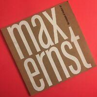 MAX ERNST Museum of Modern Art MOMA 1961 Retrospective Art Exhibition Catalog
