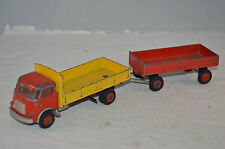 Lion Car Daf frontstuur truck with trailer very nice original condition