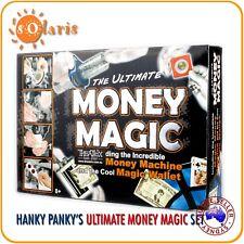 HANKY PANKY'S ULTIMATE MONEY MAGIC SET with DVD Money Machine Magic Wallet