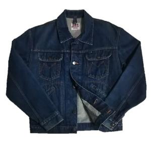 90s MAVERICK denim jacket Tracker jacket made in Japan  size M   Wrangler   LVC