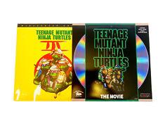 Teenage Mutant Ninja Turtles LaserDisc Set~Lot of 2~The Movie & TMNT 3