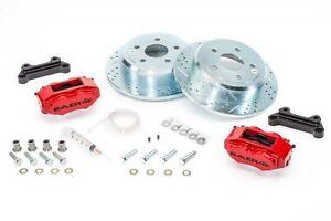"""BAER Brake System 12.2"""" Rear SS4 Kit - Red / Black for 07-18 Jeep Wrangler JK"""