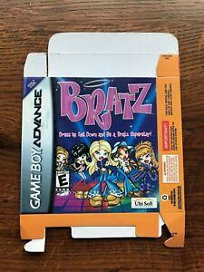 Bratz Gameboy Advance Game Boy Empty Box Only