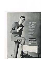 PUBLICITE ADVERTISING  1964   MAGAISIN  LE PRINTEMPS  BRUMMELL  la mode TREVIRA