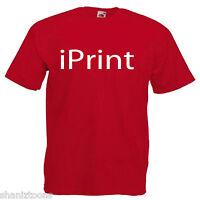 Printer Mens Adults T Shirt