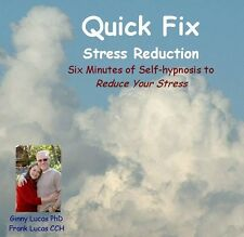 Hypnosis CD - Reduce Stress in Six Minutes! by Dr Ginny Lucas