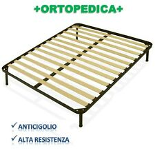 RETE ORTOPEDICA 13 DOGHE 170X190 CON PIEDINI FERRO ALTEZZA A SCELTA