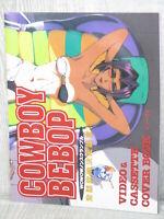 COWBOY BEBOP Videotape & Cassette Cover Book Art Works Illustration Ltd Booklet