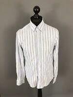 HUGO BOSS Shirt - Medium - Striped - Great Condition - Men's