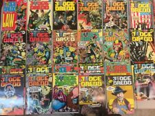 Judge Dredd Complete Set 1-35 Brian Bolland Eagle Comics