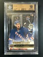 2014-15 Upper Deck Kevin Hayes Young Guns Canvas Rookie BGS 10 Pristine