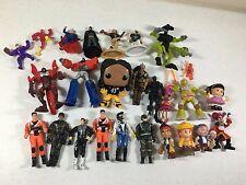 Action Figure Mix Lot Funko Pop Little People Batman Superman Optimus Prime TMNT