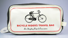 "Hermosas cultura bolso, piel sintética, retro-motivo ""Bicycle Rider's travel Bag"""