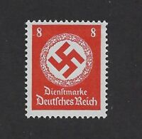 MNH postage Stamp / 1942 PF08 / Large WWII emblem / Third Reich  / WWII Germany