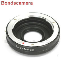 Macro Confirm Contax Yashica C/Y Lens to NIKON F MOUNT Adapter D4 D90 D750 D5200