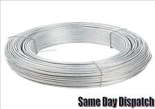 Heavy Duty Galvanised Wire Metal Fencing Wire Outdoor 0.7/0.9/1.0/1.25/1.6/2mm