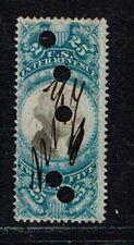 USA - 1871 -  R13 - 25 cents  REVENUE STAMP .  - no 221