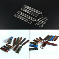 Transparent Acrylic Watch Strap Band Stencil Template DIY Leather Craft ToLO