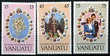 Vanuatu 1981 SG#315-7 Royal Wedding MNH Set #R441