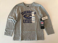"""NWT OLD NAVY NFL TEAM APPAREL """"RAVENS"""" BOY TODDLER LONG SLEEVE TEE SIZE 4T"""