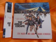 "EMER BERNSTEIN ""THE GREAT ESCAPE"" classic SOLD OUT Action Score Japan Mini LP CD"