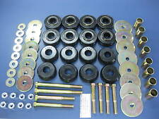 Body Frame Cab Mount Bushing Cushion Kit Set Ford Bronco 66-77 4WD 44110