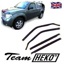 WIND DEFLECTORS FOR NISSAN PATHFINDER 2005-2012 4pc HEKO TINTED