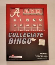 Alabama Crimson tide collegiate bingo game new in box 20 cards great gift!