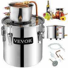 3 Gal Moonshine Still Spirits Kit Water Alcohol Distiller 2 Pot DIY Home Brewing