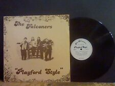 THE FALCONERS Playford Style  LP  Private pressing  Lovely copy !